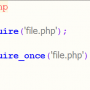 تفاوت تابع require_once و require